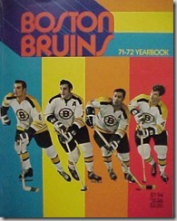 1972-Boston Bruins Yearbook
