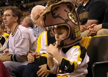 Boston Bruins fans rule!