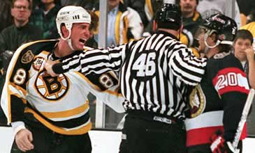 Cam Neely Gets Miffed!